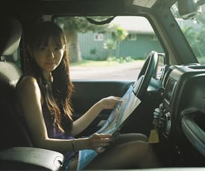 actress, aesthetic, and car image
