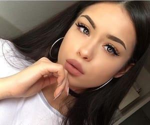 girls, makeup, and beauty image