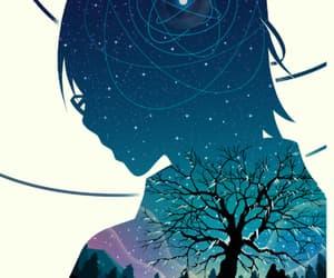 anime, kawaii, and mystery image