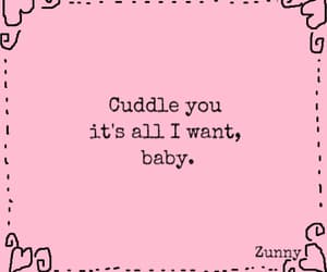 baby, cuddle, and phrases image