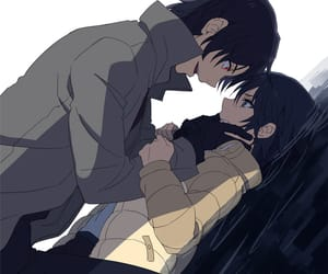anime, dark, and guy image