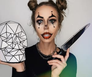 girl, Halloween, and horror image