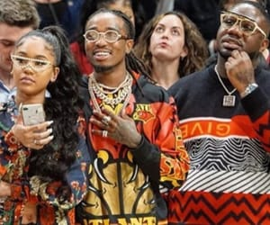 couple, couples, and quavo image