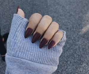 nails, gel nails, and stiletto nails image