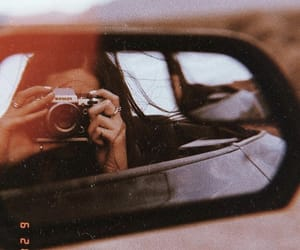 car, photography, and girl image