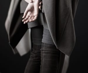 fashion, grey, and hands image