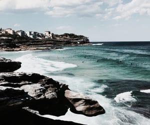 coast, ocean, and sea image