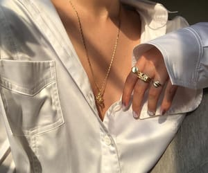 aesthetic, tumblr, and jewelry image
