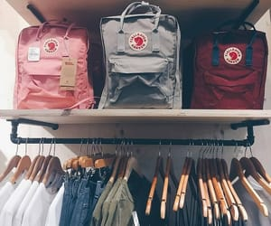 aesthetic, fjallraven kanken, and shop image