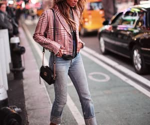 blogger, fashion, and times square image