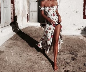 dress, fashion, and spring image