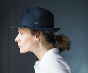etsy, stingy brim hat, and vintage fedora image