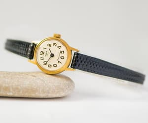 etsy, limited edition, and gold women watch image