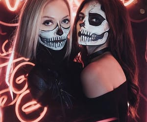 friendship, girl, and Halloween image