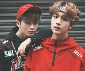 haechan, nct, and mark image