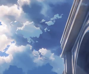 anime, anime scenery, and flavors of youth image
