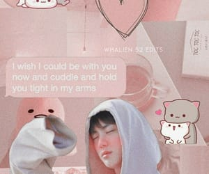 aesthetic, jin, and pink image