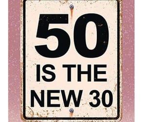 50, birthday, and happiness image