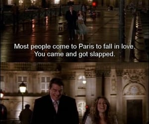 sex and the city, paris, and Mr Big image