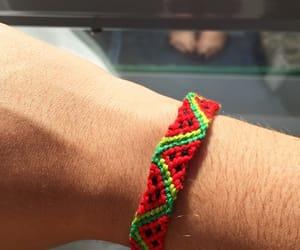 black, bracelet, and friendship image