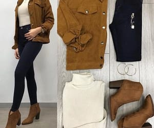 casual, fall, and fashion image