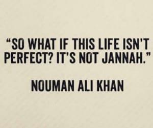islam, jannah, and life image