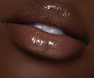 brown and lips image