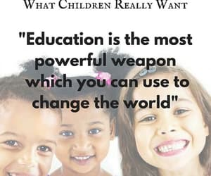 change the world, education, and nelson mandela image