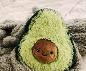 avocado, pillow, and cute image