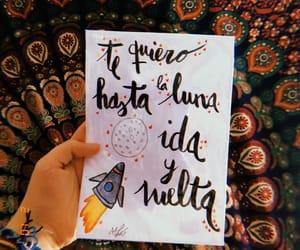 arte, lettering, and luna image