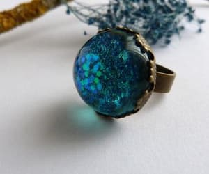 etsy, handmade, and statement ring image