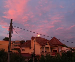 mood, sky, and sunset image