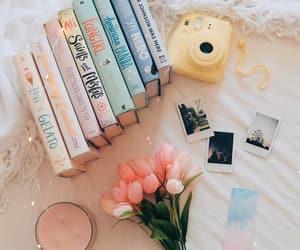 books, girl, and nerd image