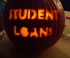 Halloween, carved pumpkin, and scary funny image