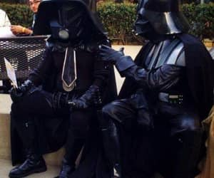 darth vader, funny, and Halloween image