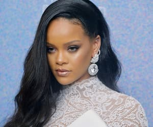 rihanna, white, and diamond ball image