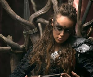 the 100, lexa, and the hundred image