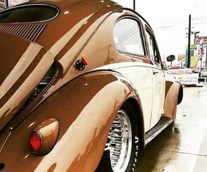 cars, vintage, and vw image