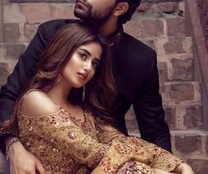 couple, pakistan, and wedding image