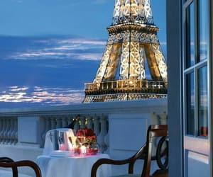 paris, eiffel tower, and romantic image