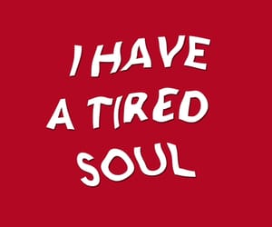 red, soul, and quotes image