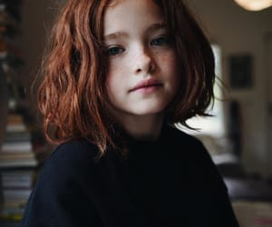 freckles, kid, and ginger image
