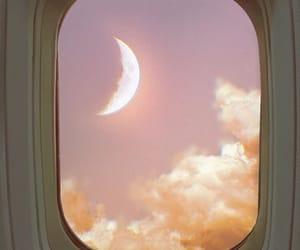 flight, nature, and window seat image