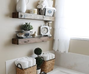 bathroom and decor image