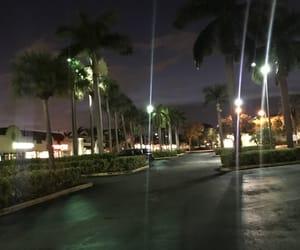 Miami, night, and travel image