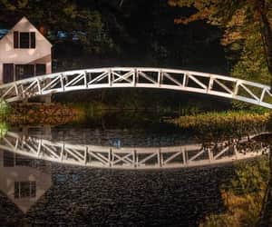 Maine, new england, and reflections image