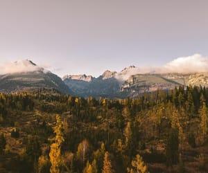 beautiful, fall, and mountains image