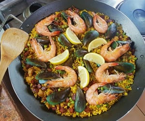 beautiful, cook, and food image
