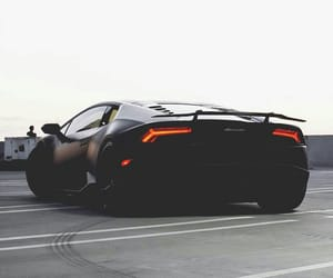 black, car, and cars image