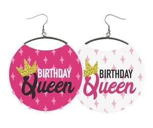 birthday, earrings, and jewelry image